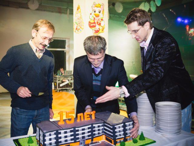 Торт на Юбилей компании 15 лет