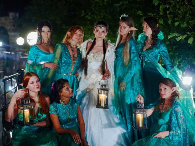 Тематическая эльфийская свадьба