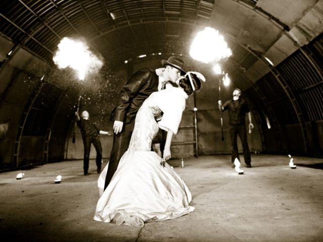 Первый танец молодожёнов в стиле Чикаго