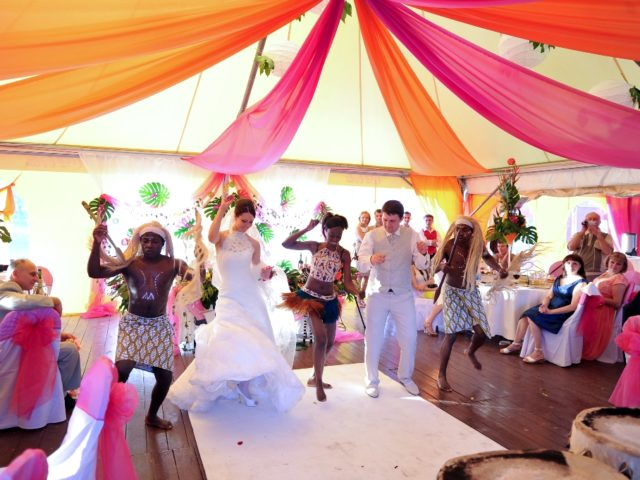 Свадьба Мадагаскар. Первый танец молодожёнов