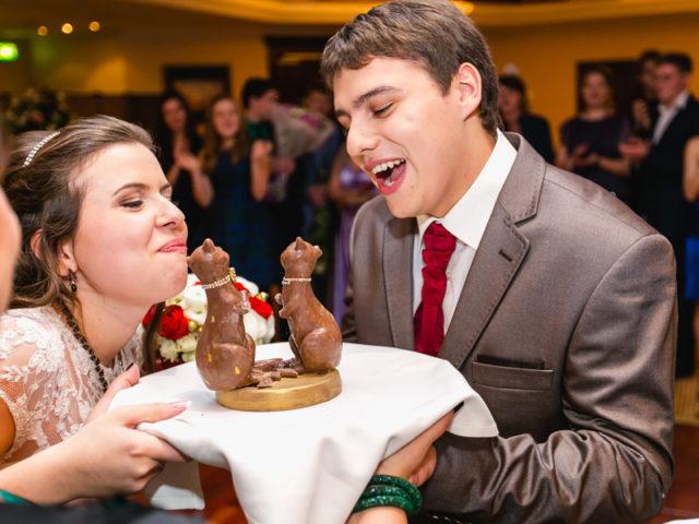 Шоколадные коты на свадьбе Золотой Кот