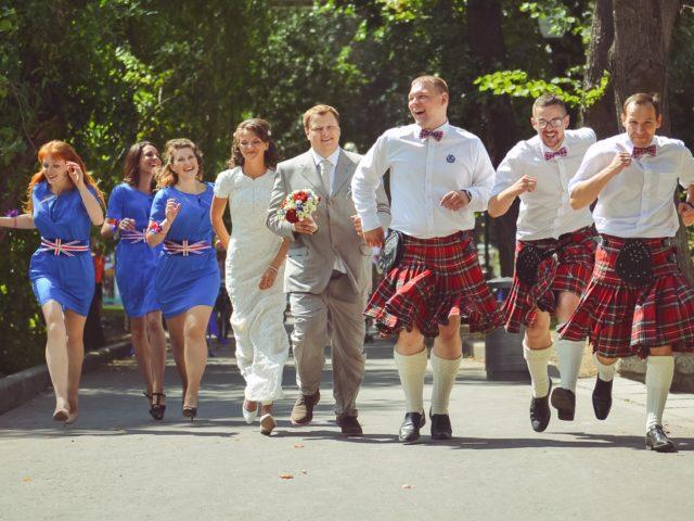 Британская свадьба