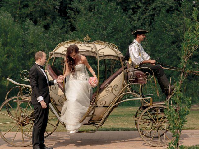 Свадьба в стиле Золушка