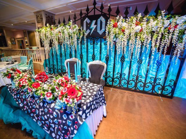 Декор свадьбы в стиле рок