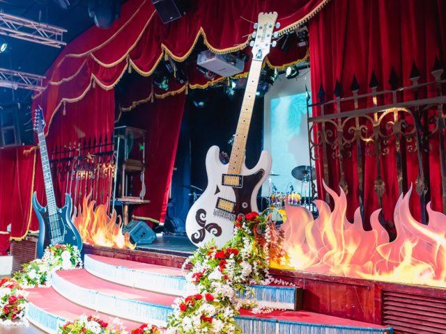 Свадьба в стиле глам рок