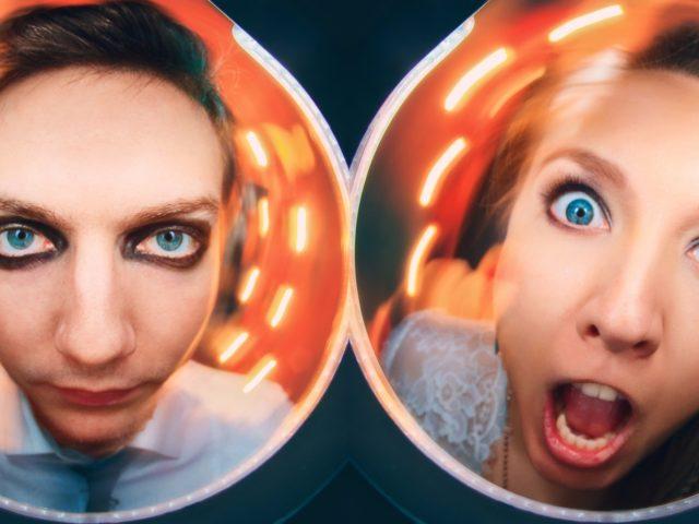 Стас и Ольга смелые молодожёны