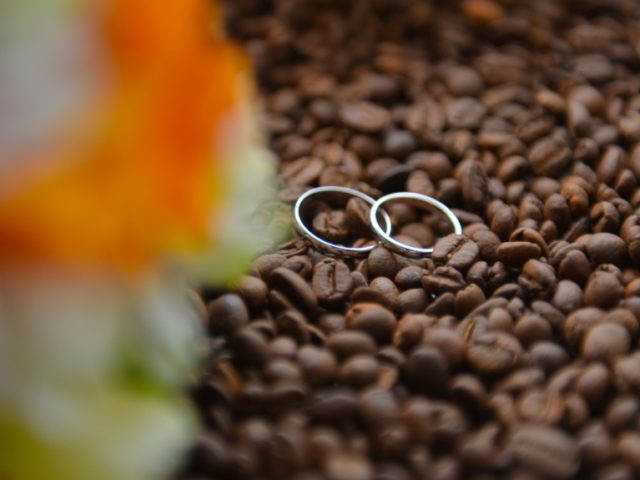 Свадьба в кофейном стиле