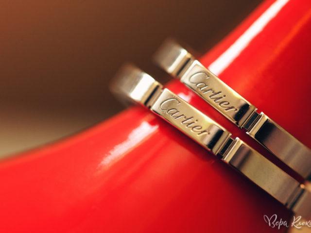 Свадебные кольца Картье