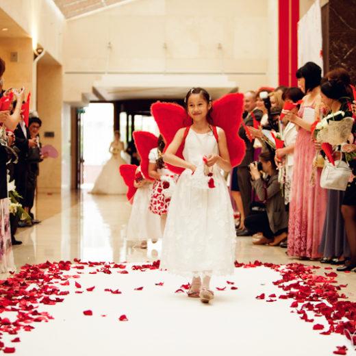 Выездная церемония на Красной свадьбе