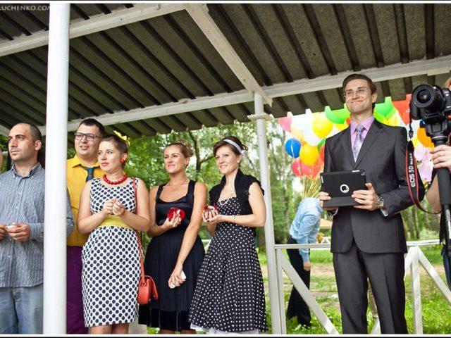 Свадьба в шатре Горки 2 на Клязме