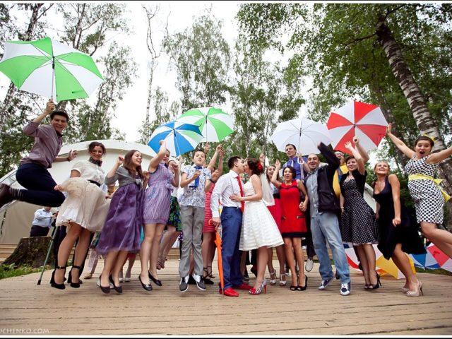 Фотосессия с зонтиками