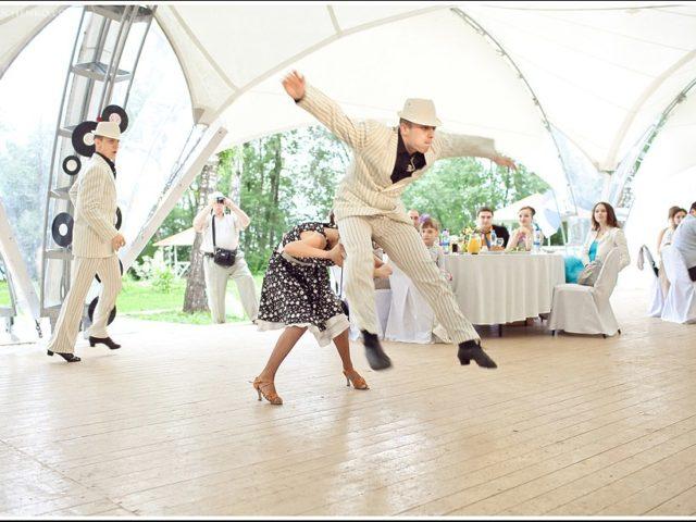 Щоу балет на свадьбе Стиляги