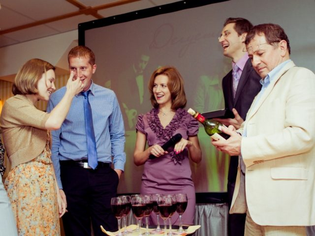 Конкурс Дегустация на свадьбе