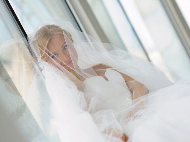 Невеста на белой свадьбе