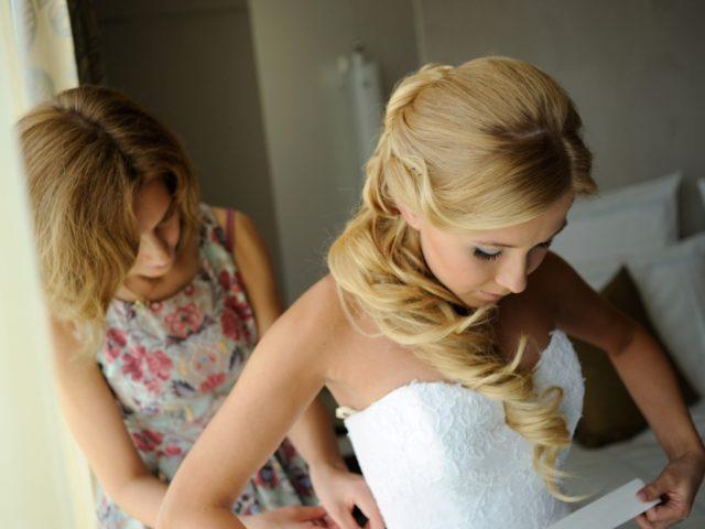 Организатор свадьбы и невеста