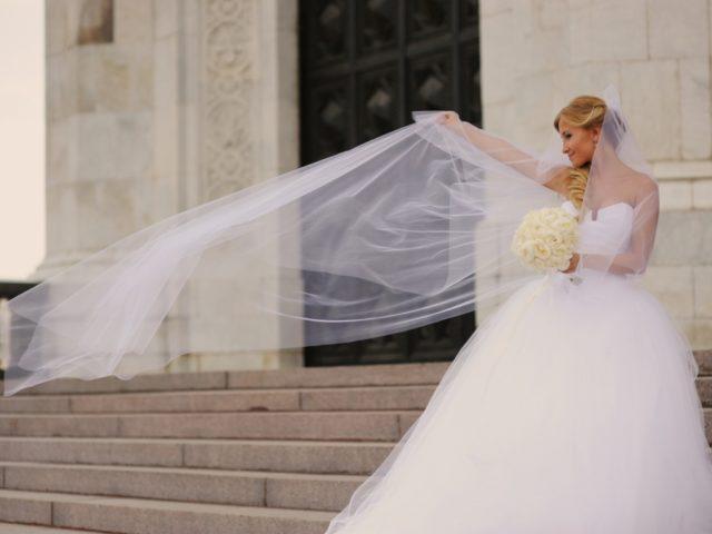 Платье невесты от Vera Wang