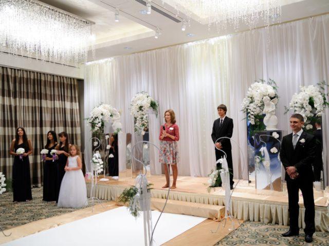 Репетиция выездной церемонии бракосочетания
