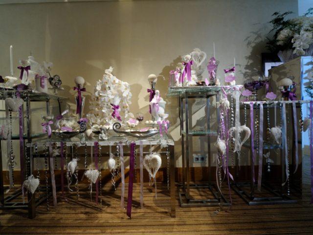 Сладкий стол для гостей на свадьбе