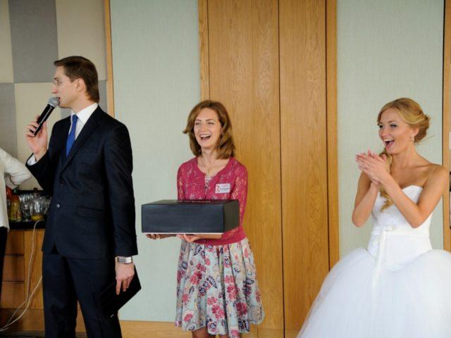 Интерактив ведущего на белой свадьбе