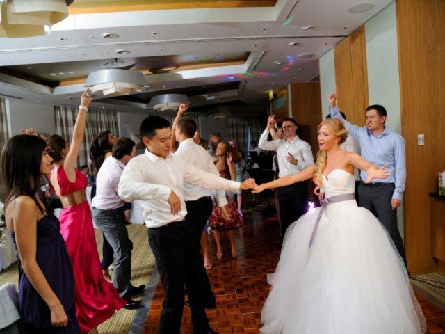 Танцевальный сет на свадьбе