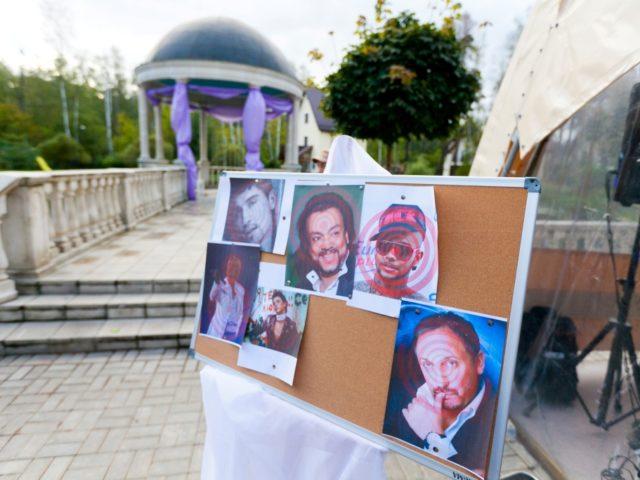 Портреты поп звёзд ждут своей казни