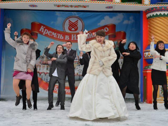 Свадебный Флешмою в Измайловском Кремле