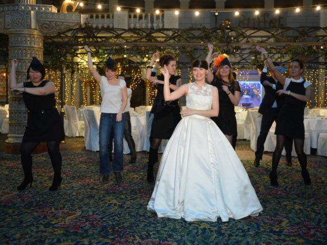Флешмоб на свадьбе в отеле Корстон