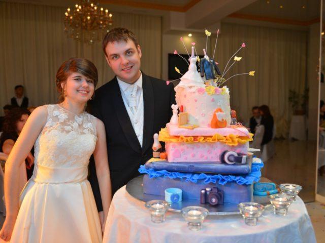 Торт в стилистике Вокруг Света от кондитерской Колесо Времени