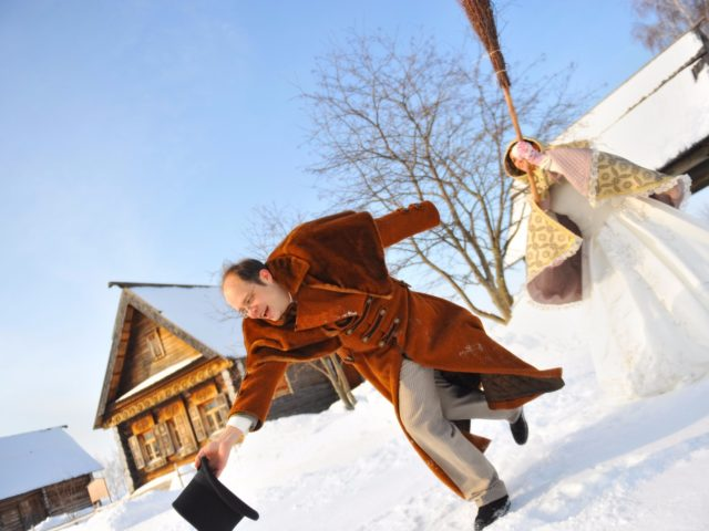 Зимняя свадьба в Суздале