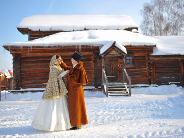 Свадебная прогулка в Суздале