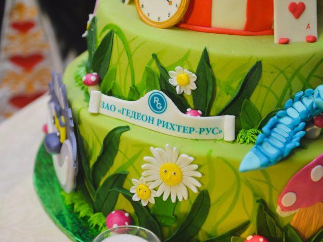 Тематический новогодний торт Гедеон Рихтер