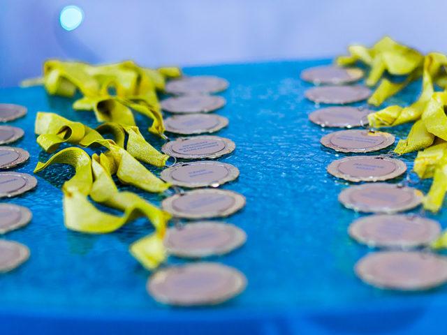 Памятные медали на Юбилей компании 10 лет