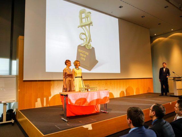 Открытие церемонии награждения в Германии