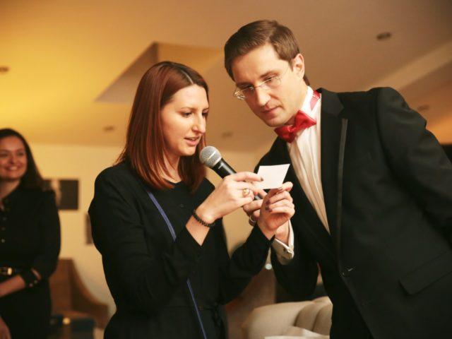 Розыгрыш лотереи на корпоративном вечере