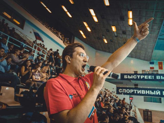 Мировая Лига в СК Олимпийский