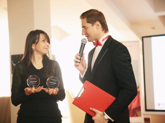 Церемония награждения от Росбанк