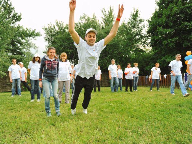 Состязания в прыжках в длину