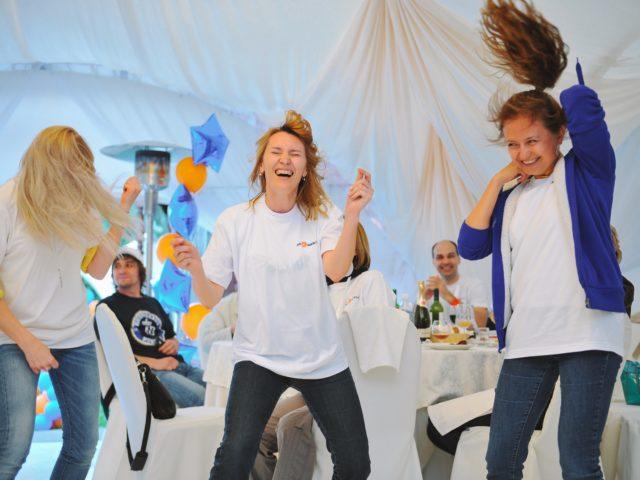 Танцевальный батл на мероприятии