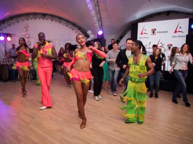 Бразильский танцевальный мастер класс