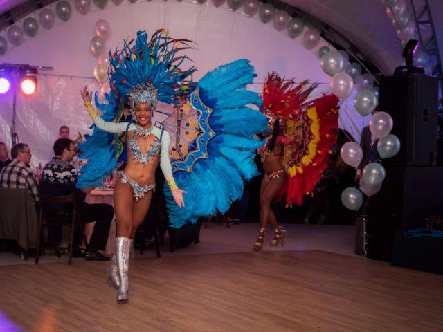 Бразильское шоу на вечеринке