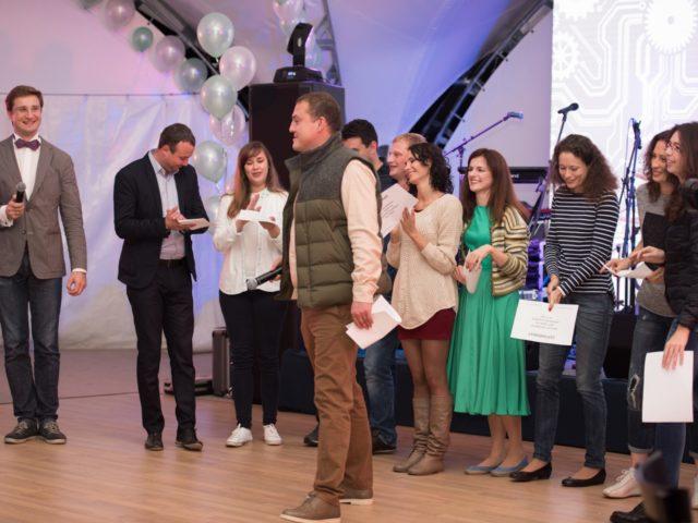 Церемония награждения сотрудников
