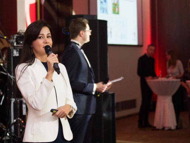 Выступление генерального менеджера DoubleTree by Hilton Marina Натальи Горгураки