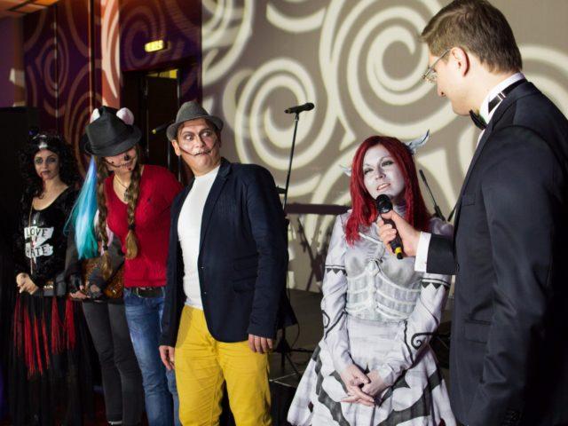 Знакомство с участниками конкурса на Halloween