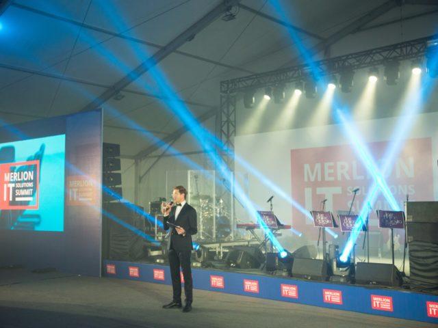 MERLION IT Solutions Summit. Ведущий Роман Акимов