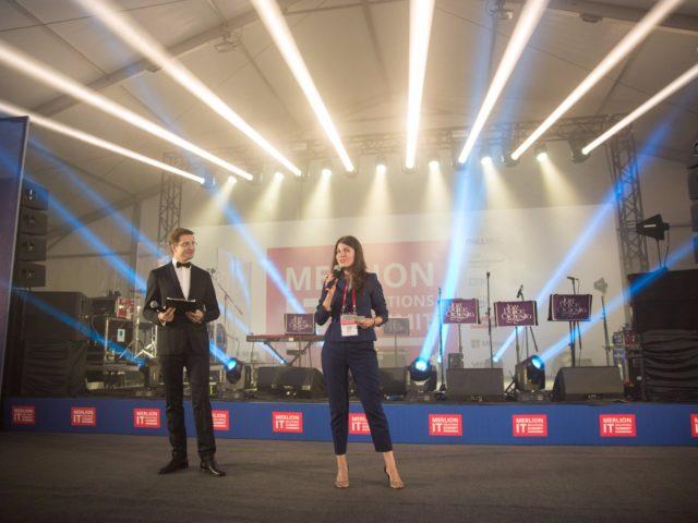 Церемония открытия гала ужина участников Саммита Мерлион