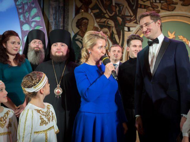 Фестиваль Славим Отечество 2017. Светлана Медведева и Роман Акимов