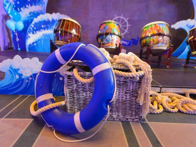 Элементы декора в морском стиле
