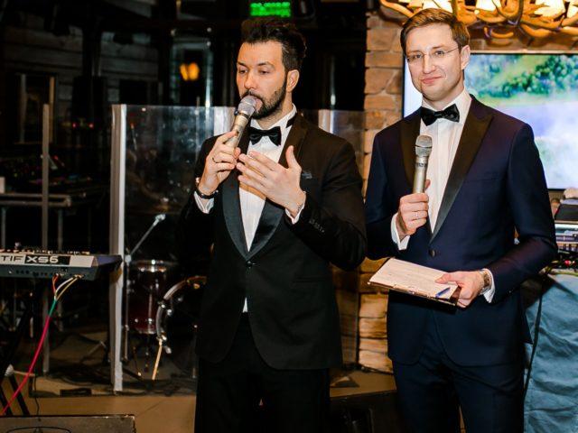 Денис Клявер и Роман Акимов открывают программу вечера