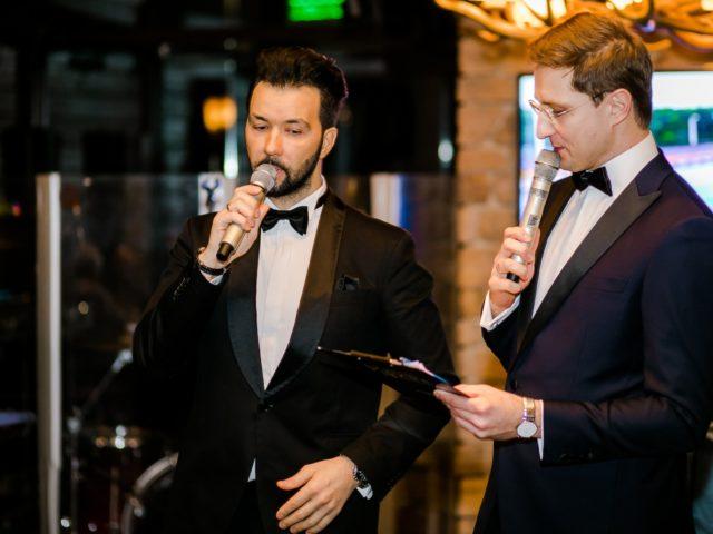 Денис Клявер и Роман Акимов ведут программу в дуэте