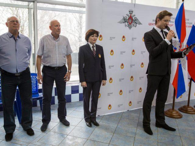 Аллея славы Олимпийских Чемпионов ЦСК ВМФ церемония открытия